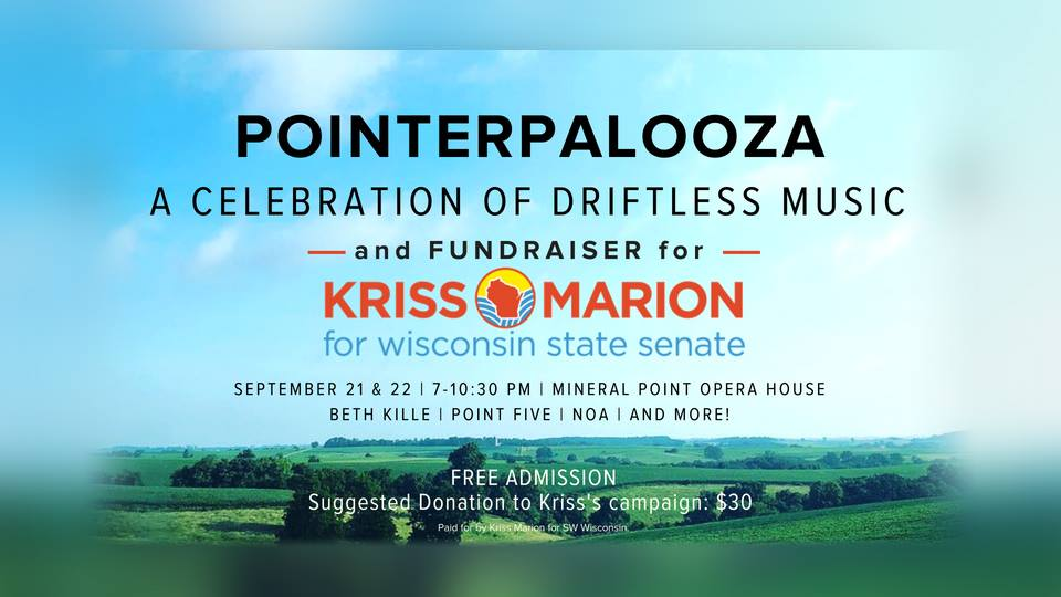 Pointerpalooza for Kriss Marion