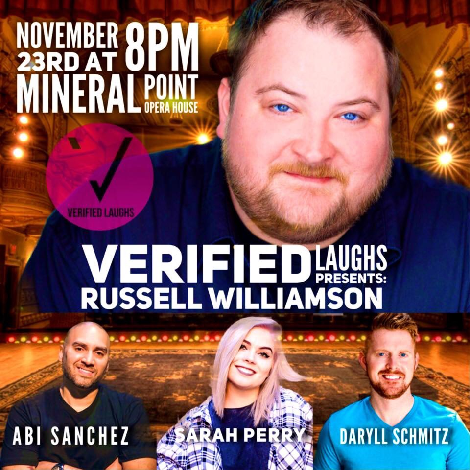Verified Laughs presents Russell Williamson