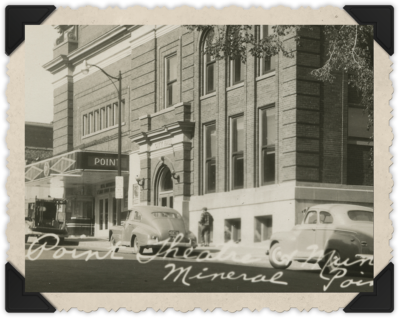 Mineral Point Opera House circa 1935